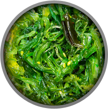 Seaweed contains a lot of Iodine