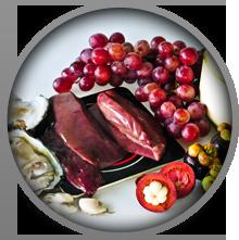Meats contain zinc