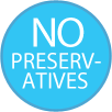 No Preservatives Badge