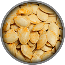 Pumpkin Seeds contain a lot of manganese